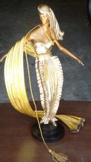 American Millionairess Bronze Sculpture 1990 Sculpture by  Erte