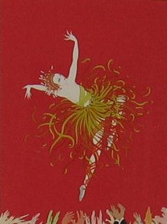 Applause 1983 Limited Edition Print by  Erte