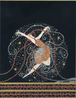 Ondee 1983 Limited Edition Print by  Erte