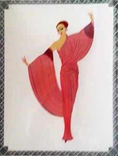 In the Evening 1981 Limited Edition Print by  Erte