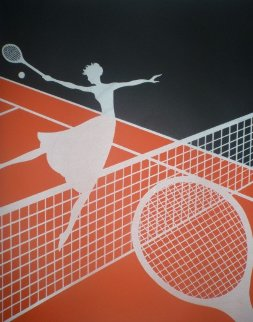 Love of Tennis Suite 1974 Limited Edition Print -  Erte