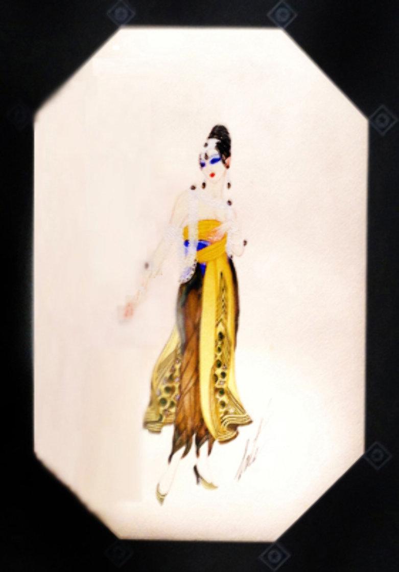 Bagdad - Le Hazein Moderne 1918 20x15 Original Painting by  Erte