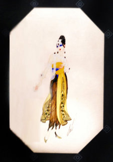 Bagdad - Le Hazein Moderne 1918 20x15 Original Painting -  Erte