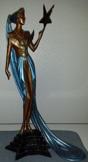 Astra Bronze Sculpture 1987 Sculpture by  Erte