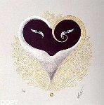 Heart I 1985 Limited Edition Print -  Erte