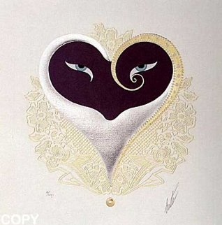 Heart I 1985 Limited Edition Print by  Erte