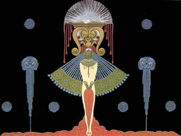 Salome AP 1981 Limited Edition Print by  Erte