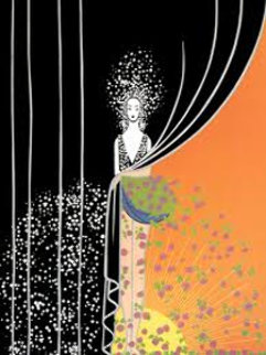 Printemps 1975 Limited Edition Print -  Erte