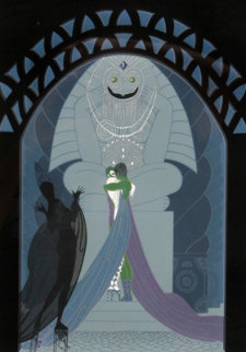 Lovers And Idols 1980 Limited Edition Print by  Erte