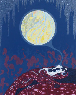 Earth's Dream (The Twenties Remembered Again Suite) Limited Edition Print by  Erte