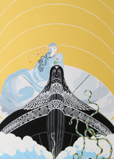 Surprises of the Sea 1982 Limited Edition Print -  Erte