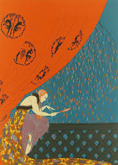 Fall 1979 Limited Edition Print by  Erte