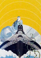 Surprises of the Sea 1983 Limited Edition Print by  Erte - 0