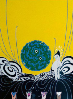 Selection of a Heart 1978 Limited Edition Print by  Erte