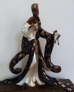 Rigoletto Bronze Sculpture 1988 Sculpture -  Erte