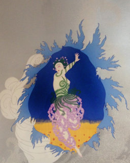 Coming of Spring AP 1982 Limited Edition Print by  Erte