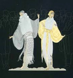 Opening Night 1985 Limited Edition Print by  Erte
