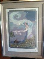 Sandstorm 1985 Limited Edition Print by  Erte - 1