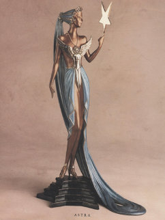 Astra Bronze Sculpture 1988 19 in Sculpture by  Erte