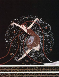Ondee AP 1983 Limited Edition Print by  Erte
