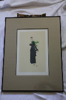 Blue Dress 1981 Limited Edition Print by  Erte - 1