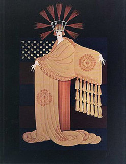 Millionairess Suite of 2 1987 Limited Edition Print by  Erte
