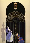 Bird in a Gilded Cage 1990 Limited Edition Print -  Erte