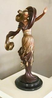 Flames of Love Bronze Sculpture 1985 Sculpture by  Erte