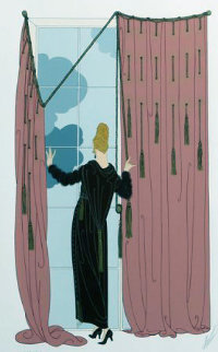 Cloudy Morning 1980 Limited Edition Print by  Erte
