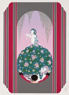 Spring Dress of Venus 1983 Limited Edition Print by  Erte