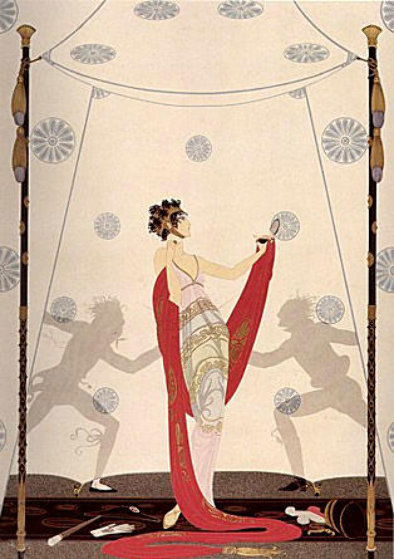 Duel 1981 Limited Edition Print by  Erte