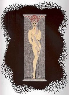 Number Series, Suite of 10 1980 Limited Edition Print by  Erte