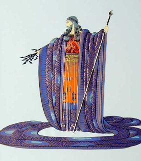 Hera And Zeus Suite of 2 Serigraphs 1983 Limited Edition Print -  Erte