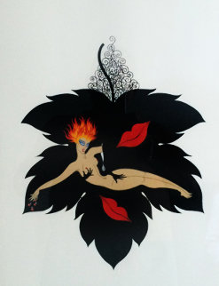 Seven Deadly Sins Suite: Lust  1983 Limited Edition Print by  Erte
