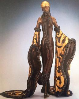 Mystic Bronze Sculpture 1988 Sculpture -  Erte