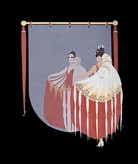 Mirror 1985 Limited Edition Print -  Erte