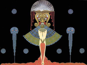 Salome 1981 Limited Edition Print by  Erte