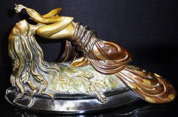 Perfume Bronze Sculpture 1984 Sculpture -  Erte
