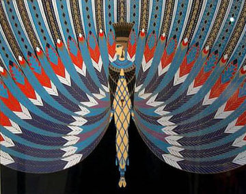 Nile 1982 Limited Edition Print by  Erte