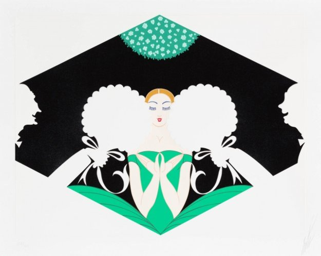 Suitors 1980 Limited Edition Print by  Erte