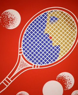 Tennis 1970 Limited Edition Print by  Erte