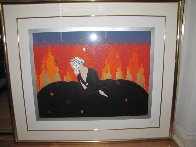 Memories 1980 Limited Edition Print by  Erte - 2