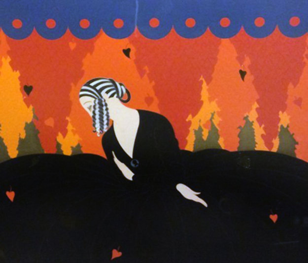 Memories 1980 by  Erte