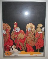 Opium 1985 Limited Edition Print by  Erte - 2