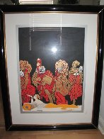 Opium 1985 Limited Edition Print by  Erte - 1