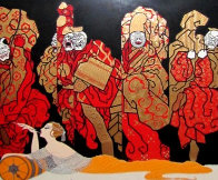 Opium 1985 Limited Edition Print by  Erte - 0