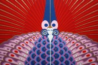 Phoenix Rising 1983 Limited Edition Print by  Erte - 2