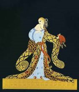 Rigoletto 1990 Limited Edition Print by  Erte