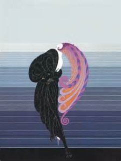 Beauty And the Beast 1985 Limited Edition Print by  Erte