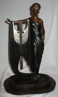 Sophisticated Lady Bronze Sculpture 1983 Sculpture by  Erte